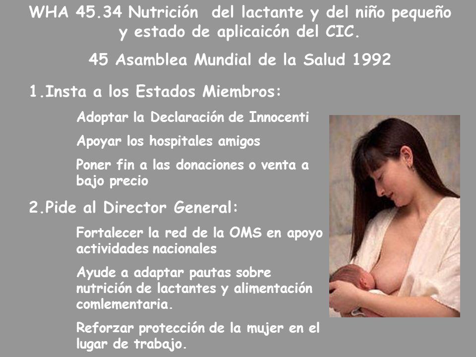45 Asamblea Mundial de la Salud 1992