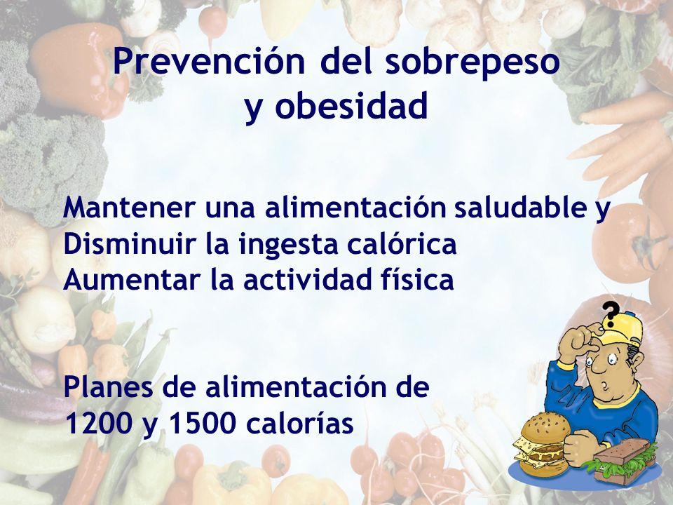Prevención del sobrepeso