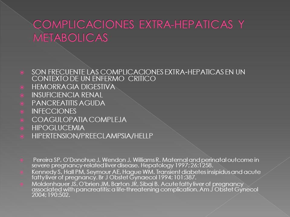 COMPLICACIONES EXTRA-HEPATICAS Y METABOLICAS