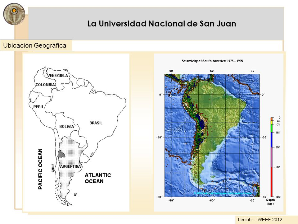 La Universidad Nacional de San Juan