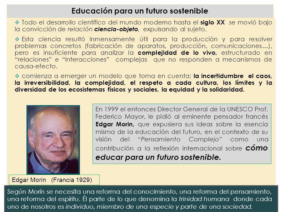 Educación para un futuro sostenible