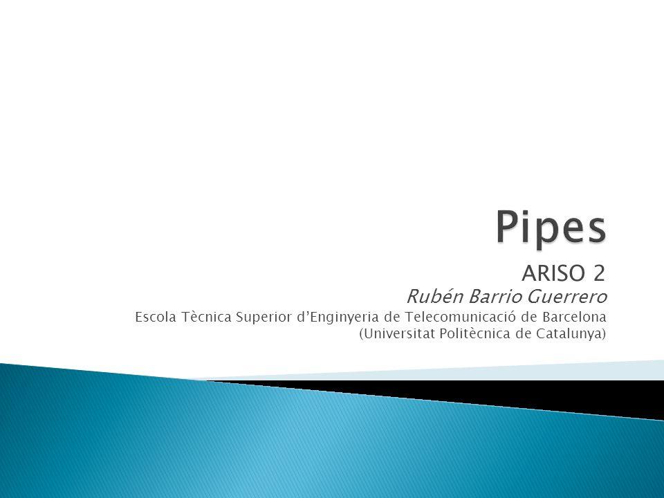 Pipes ARISO 2 Rubén Barrio Guerrero