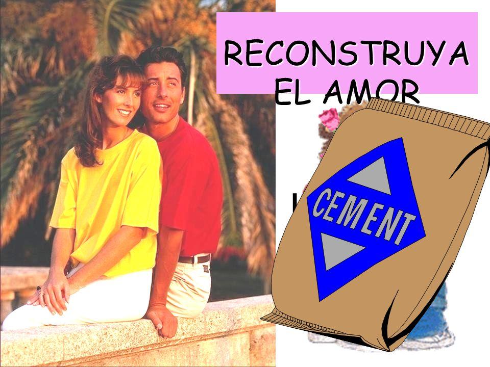 RECONSTRUYA EL AMOR La solución sugerida por Jorge Crane