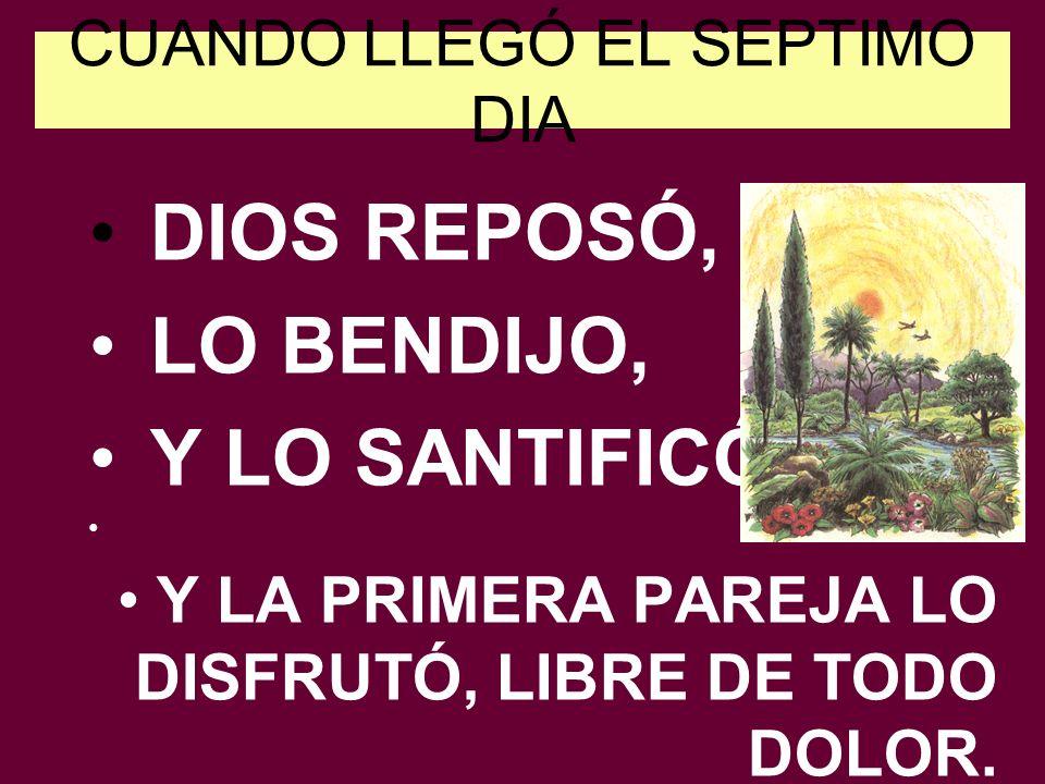 CUANDO LLEGÓ EL SEPTIMO DIA