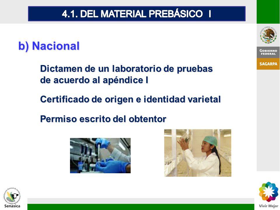 4.1. DEL MATERIAL PREBÁSICO I