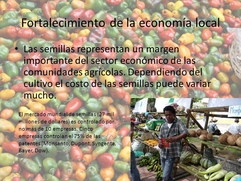 Fortalecimiento de la economía local