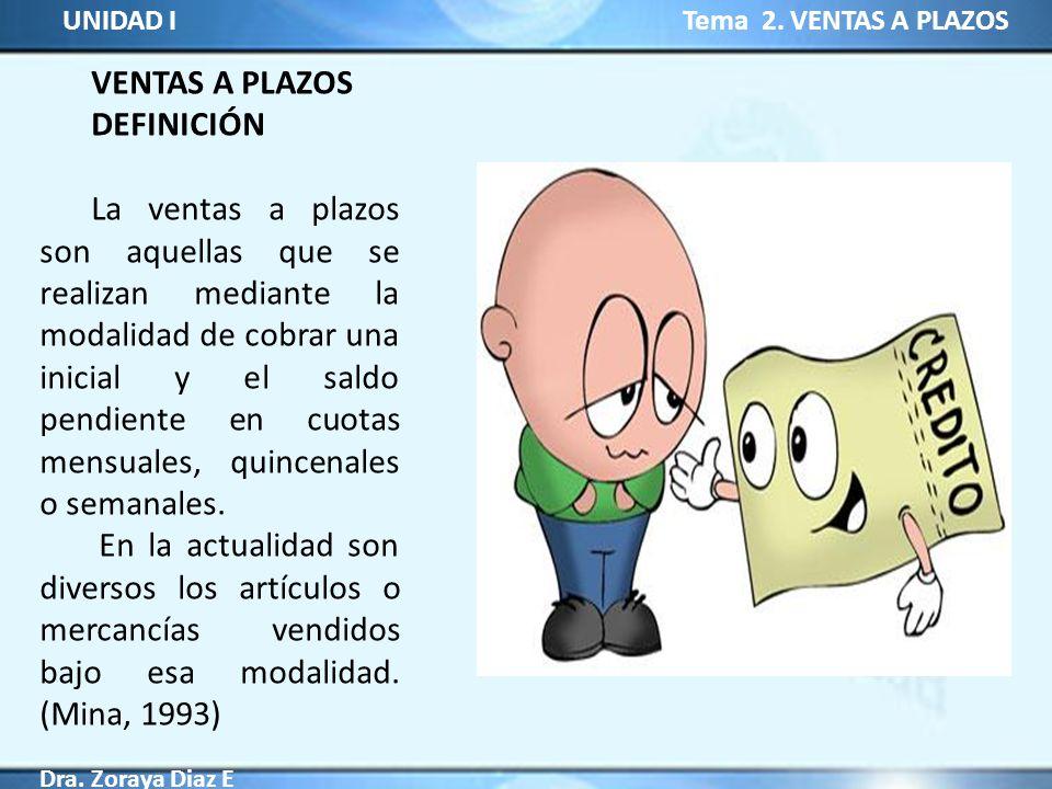 VENTAS A PLAZOS DEFINICIÓN