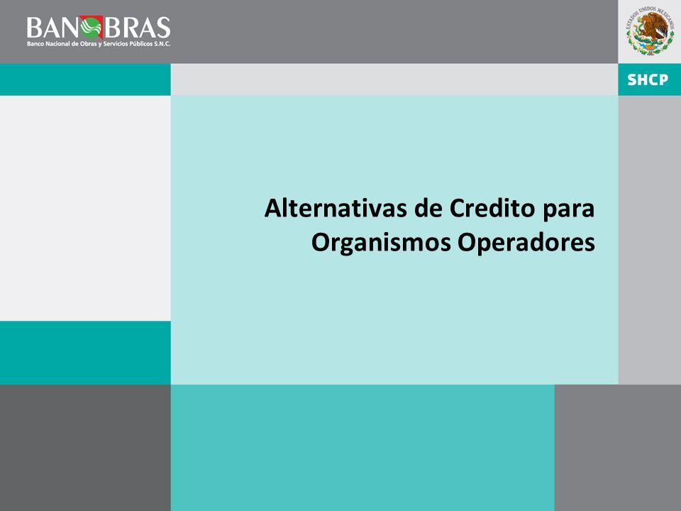 Alternativas de Credito para Organismos Operadores