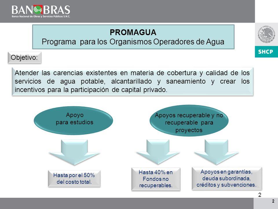 Programa para los Organismos Operadores de Agua