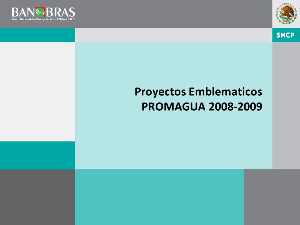 Proyectos Emblematicos PROMAGUA 2008-2009