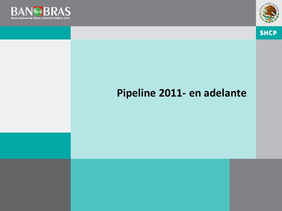 Pipeline 2011- en adelante