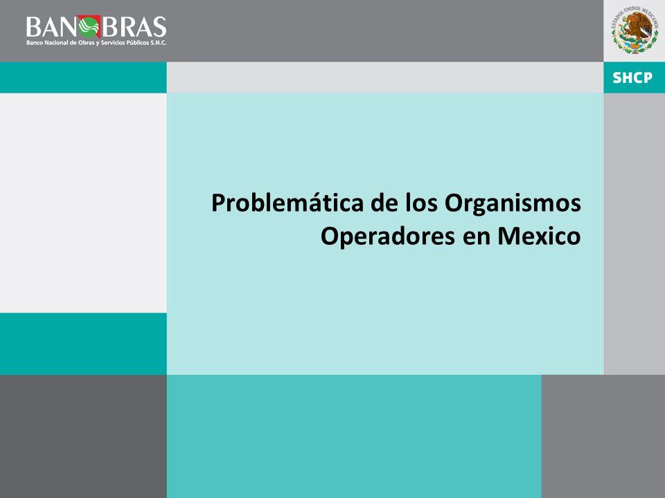 Problemática de los Organismos Operadores en Mexico