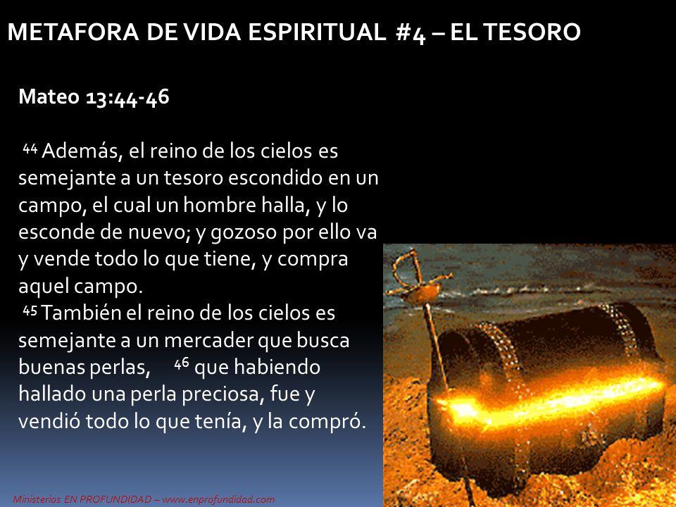 METAFORA DE VIDA ESPIRITUAL #4 – EL TESORO
