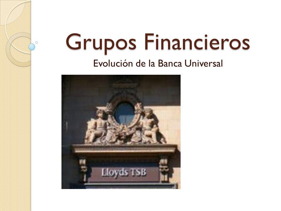 Evolución de la Banca Universal