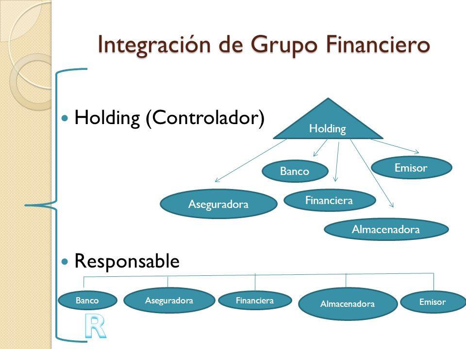 Integración de Grupo Financiero