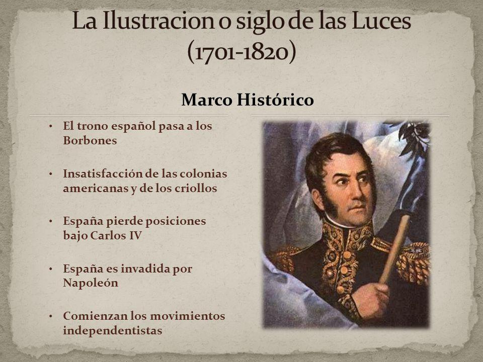 La Ilustracion o siglo de las Luces (1701-1820)