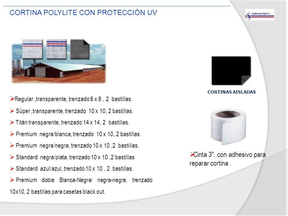 CORTINA POLYLITE CON PROTECCIÓN UV