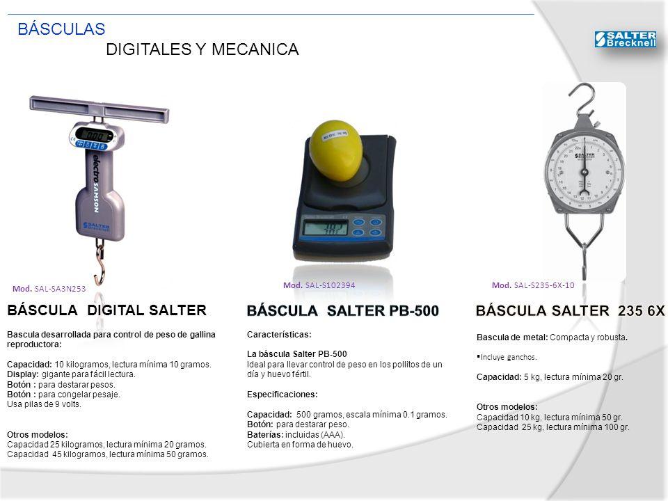 BÁSCULAS DIGITALES Y MECANICA BÁSCULA DIGITAL SALTER