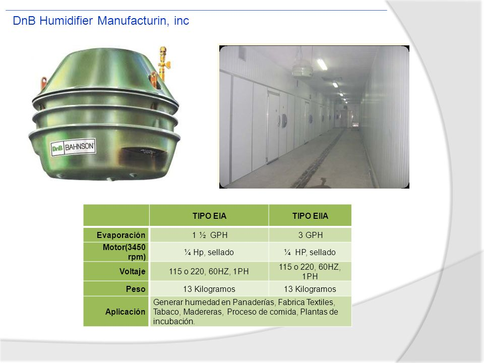 DnB Humidifier Manufacturin, inc