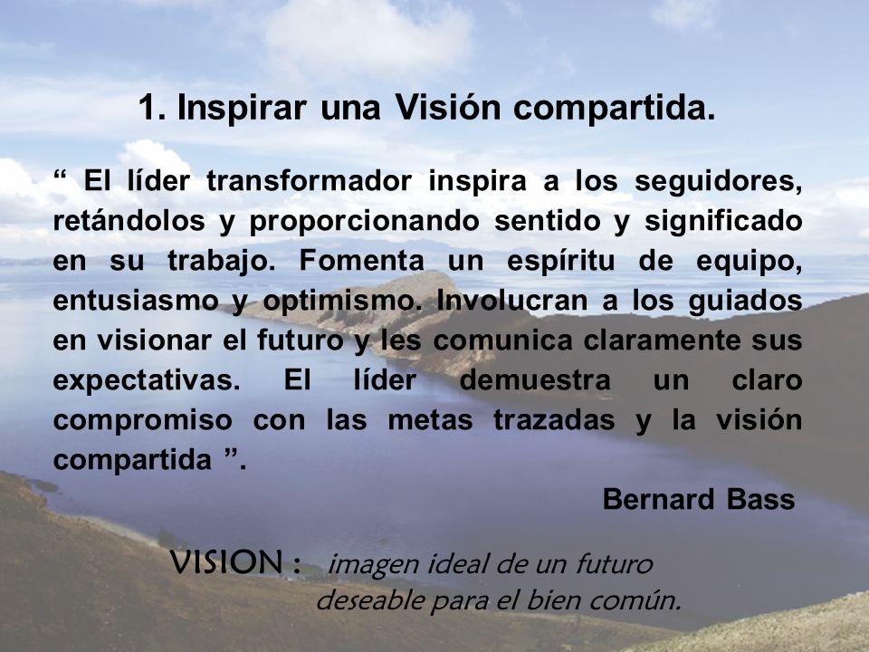 1. Inspirar una Visión compartida.