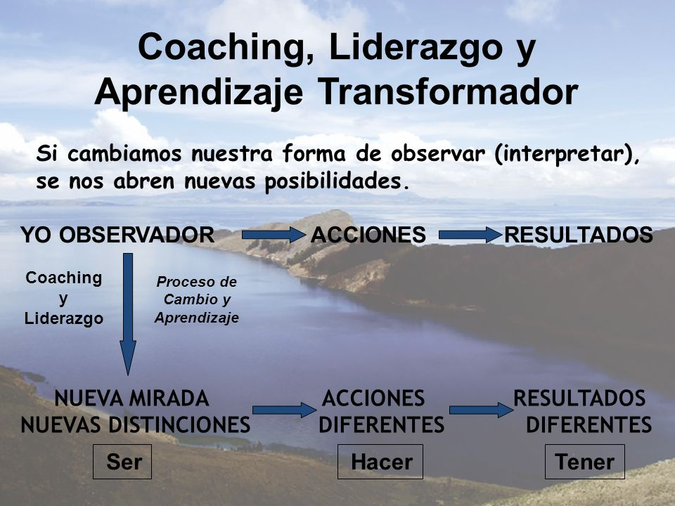 Coaching, Liderazgo y Aprendizaje Transformador