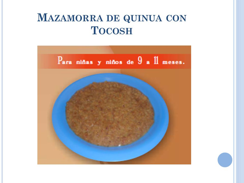 Mazamorra de quinua con Tocosh