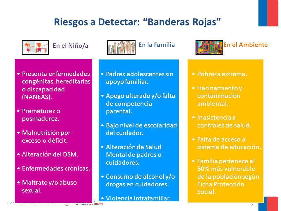 Riesgos a Detectar: Banderas Rojas