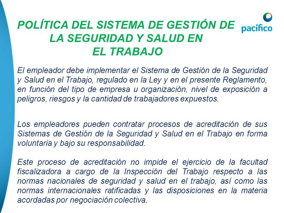POLÍTICA DEL SISTEMA DE GESTIÓN DE