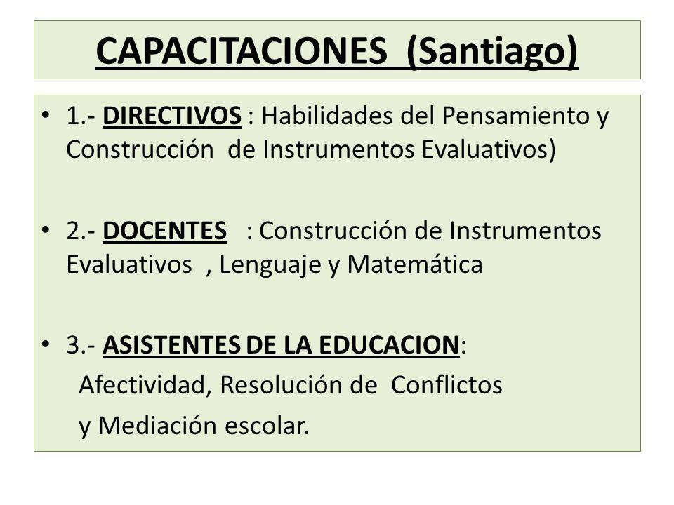 CAPACITACIONES (Santiago)