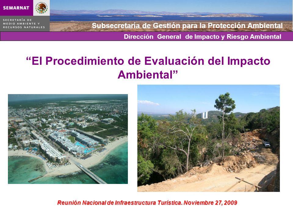 El Procedimiento de Evaluación del Impacto Ambiental