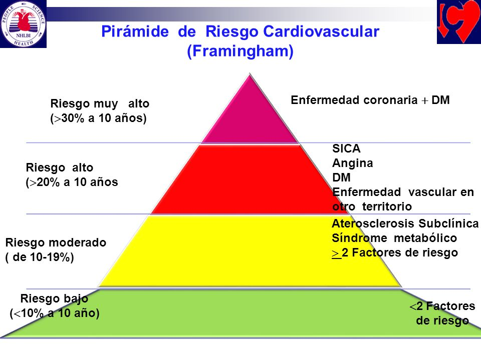 Pirámide de Riesgo Cardiovascular
