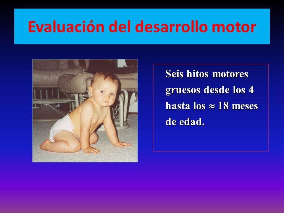 Evaluación del desarrollo motor