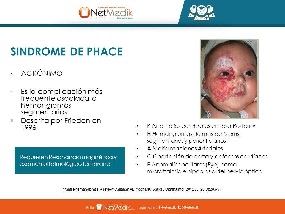 SINDROME DE PHACE ACRÓNIMO