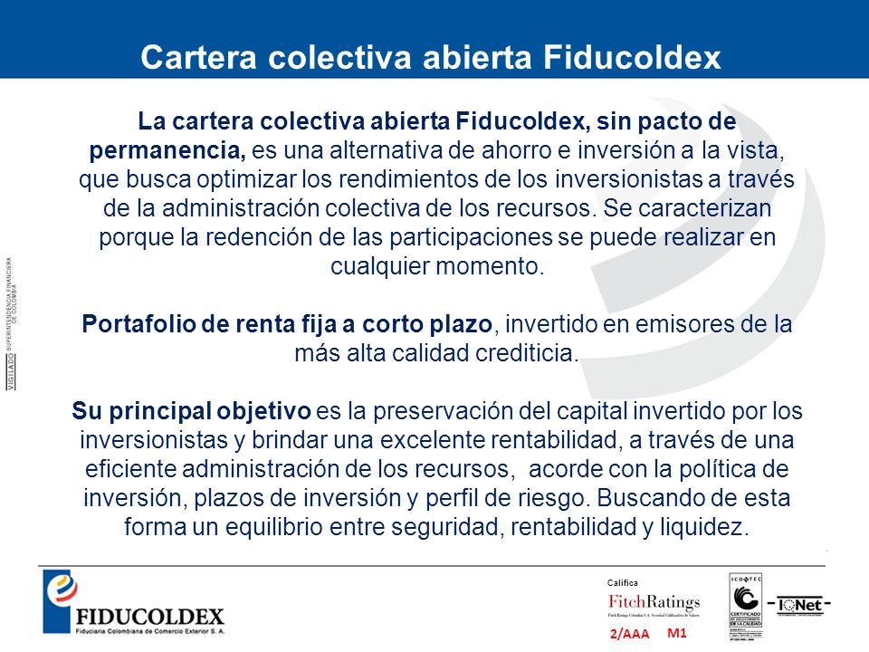 Cartera colectiva abierta Fiducoldex