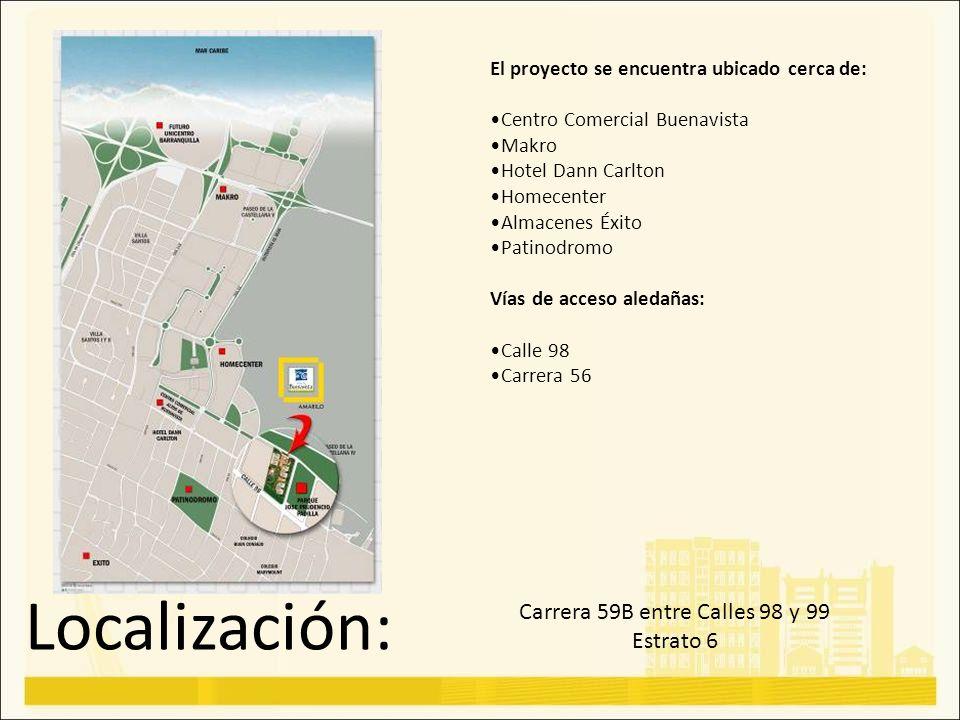 Carrera 59B entre Calles 98 y 99