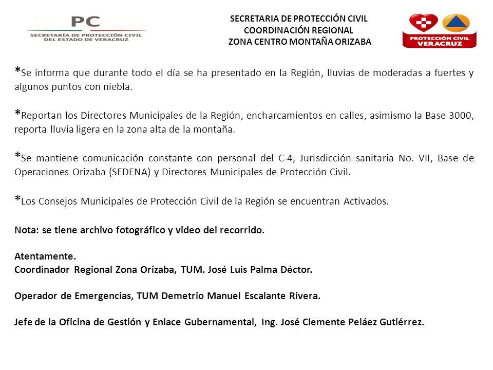 SECRETARIA DE PROTECCIÓN CIVIL