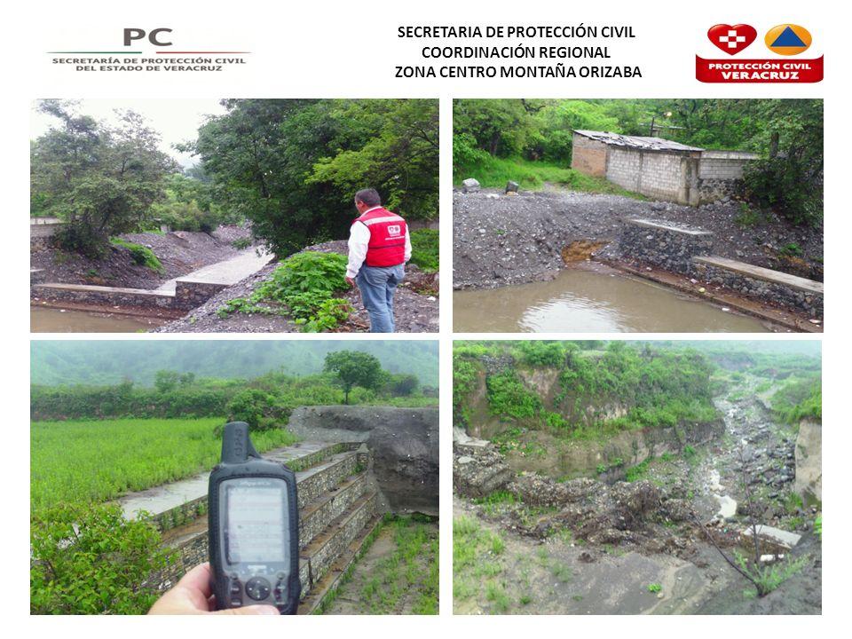 SECRETARIA DE PROTECCIÓN CIVIL COORDINACIÓN REGIONAL