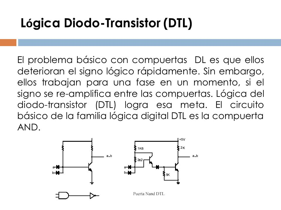 Lógica Diodo-Transistor (DTL)