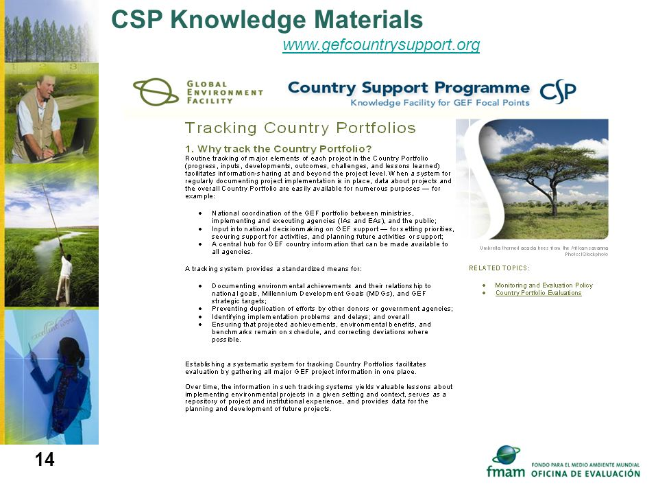 CSP Knowledge Materials