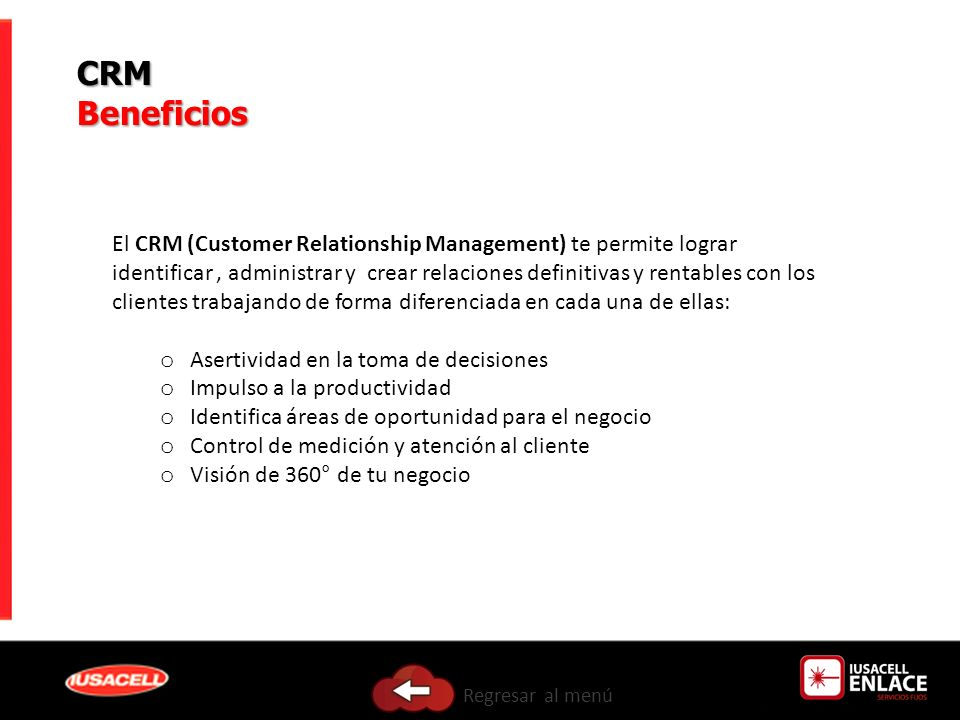 CRM Beneficios.