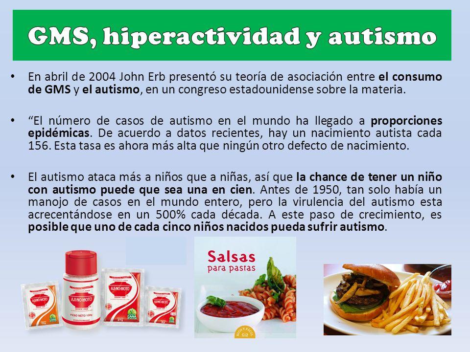 GMS, hiperactividad y autismo