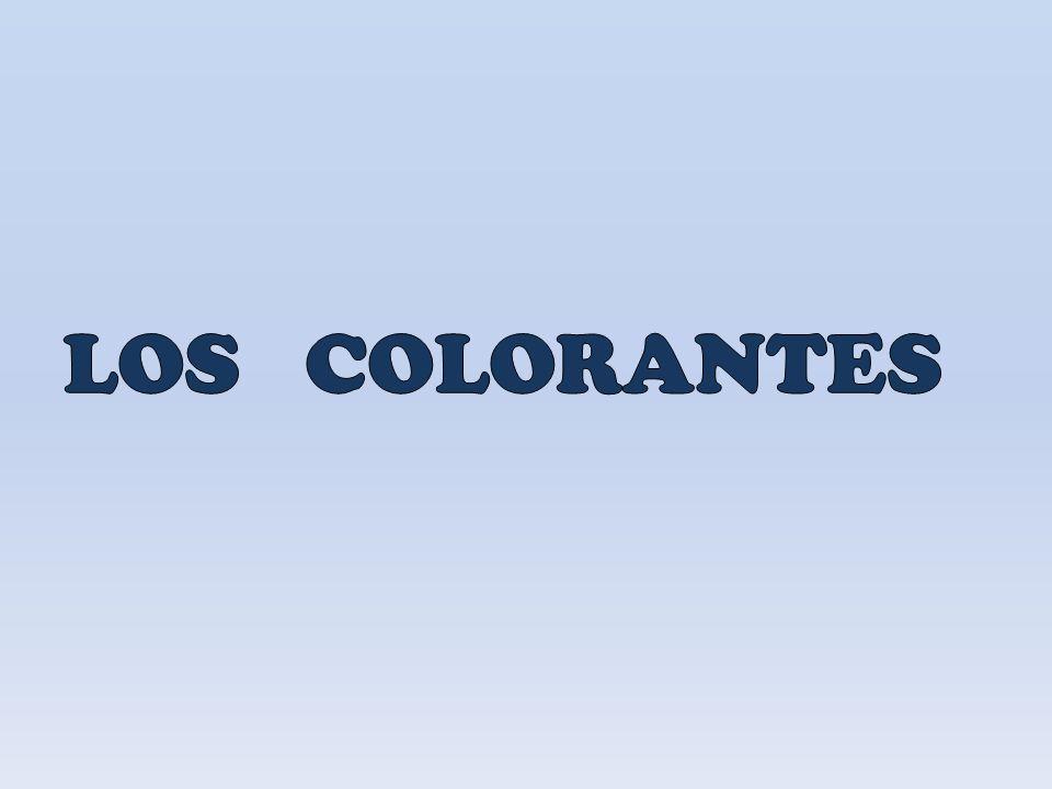 LOS COLORANTES