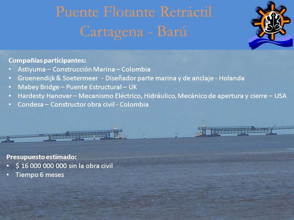 Puente Flotante Retráctil Cartagena - Barú