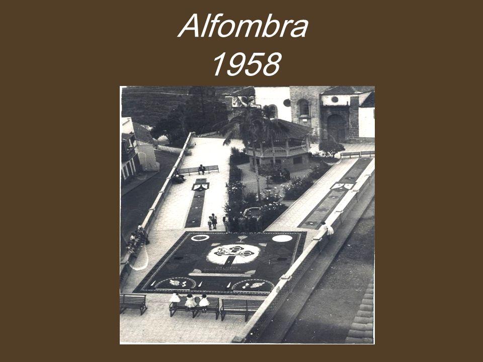 Alfombra 1958
