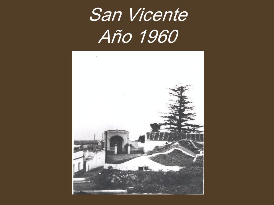 San Vicente Año 1960