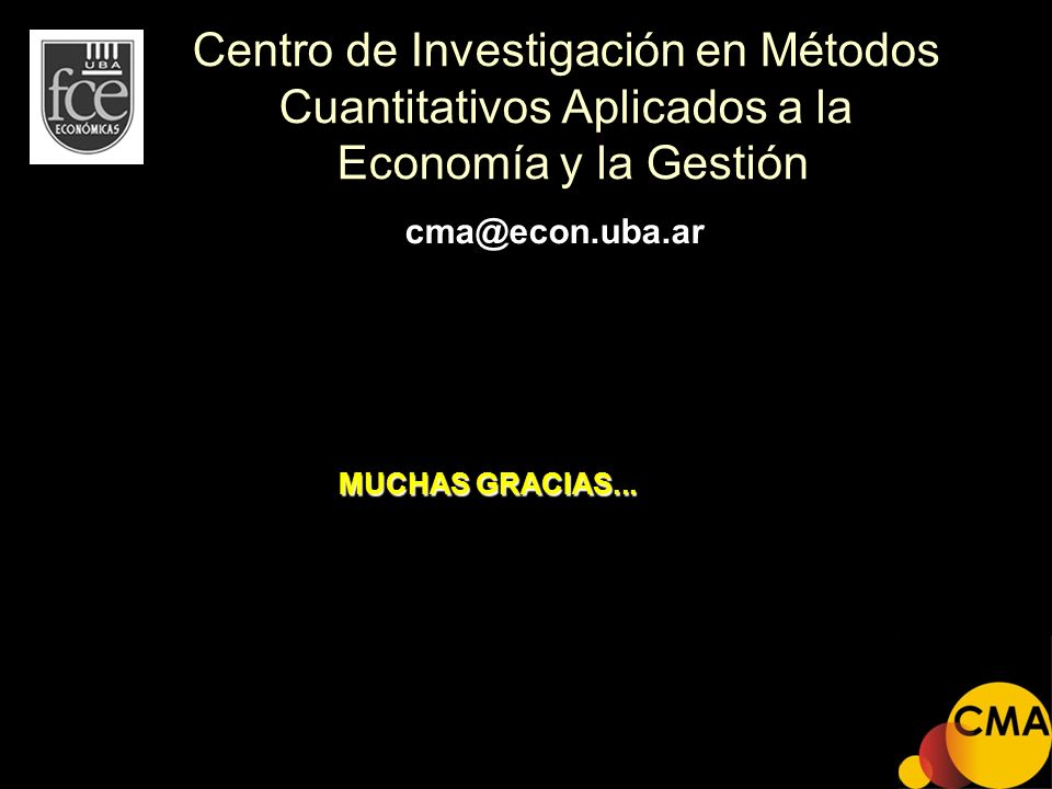 Centro de Investigación en Métodos Cuantitativos Aplicados a la Economía y la Gestión