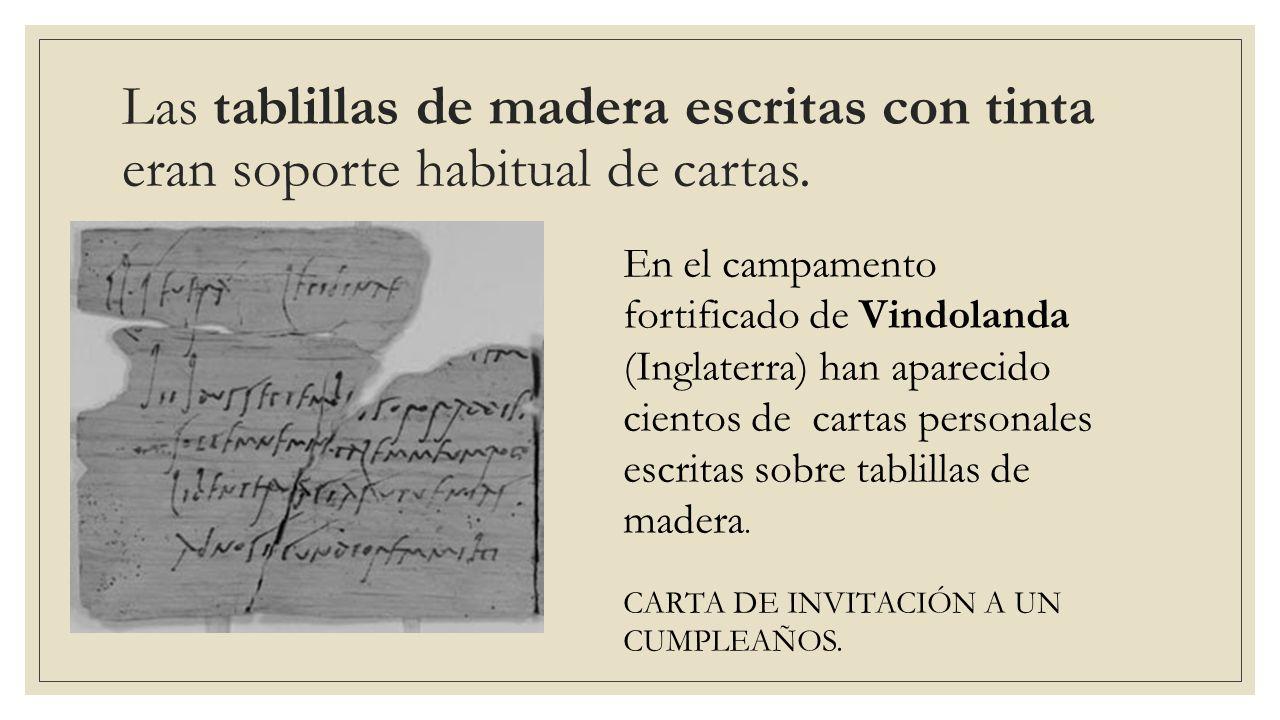 Escritura y libros en la antigua roma ante diem ix for Las tablillas