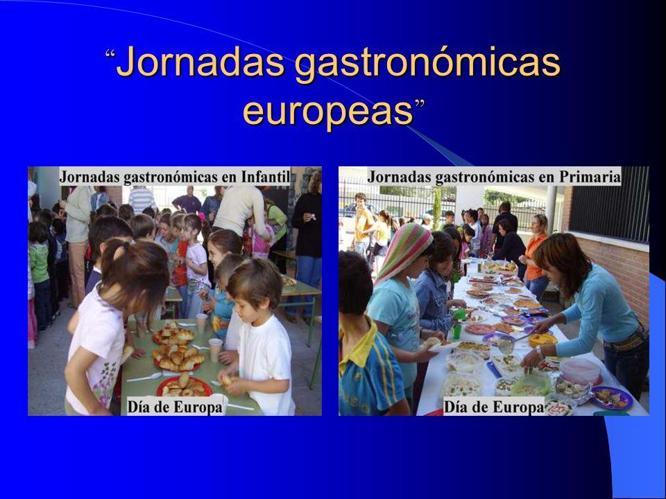 Jornadas gastronómicas europeas