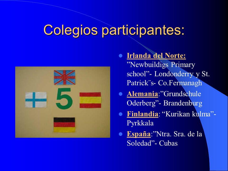 Colegios participantes: