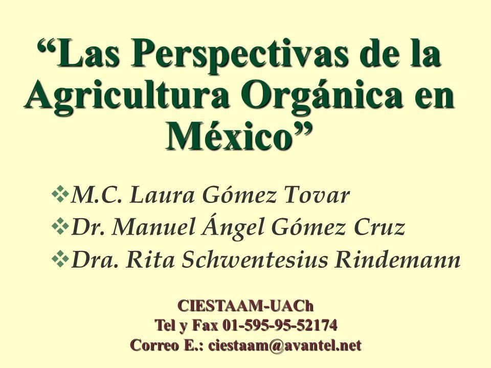 Las Perspectivas de la Agricultura Orgánica en México